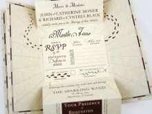 56 Free Harry Potter Wedding Invitation Template in Word for Harry Potter Wedding Invitation Template