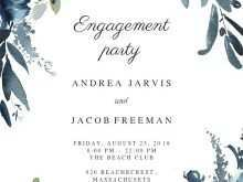 56 Free Printable Blank Engagement Invitation Templates Hd Maker with Blank Engagement Invitation Templates Hd