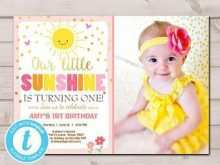 56 Free You Are My Sunshine Birthday Invitation Template Now with You Are My Sunshine Birthday Invitation Template