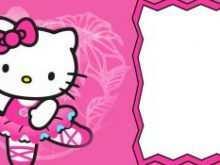 56 Report Hello Kitty Birthday Invitation Template Free Layouts for Hello Kitty Birthday Invitation Template Free