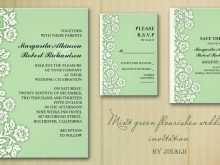 Wedding Invitation Designs Green