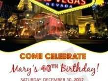 57 Best Vegas Party Invitation Template Now for Vegas Party Invitation Template