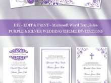 57 Blank Wedding Invitation Templates Violet With Stunning Design for Wedding Invitation Templates Violet