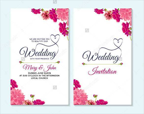 57 Creating Invitation Card Format For Marriage Templates for Invitation Card Format For Marriage