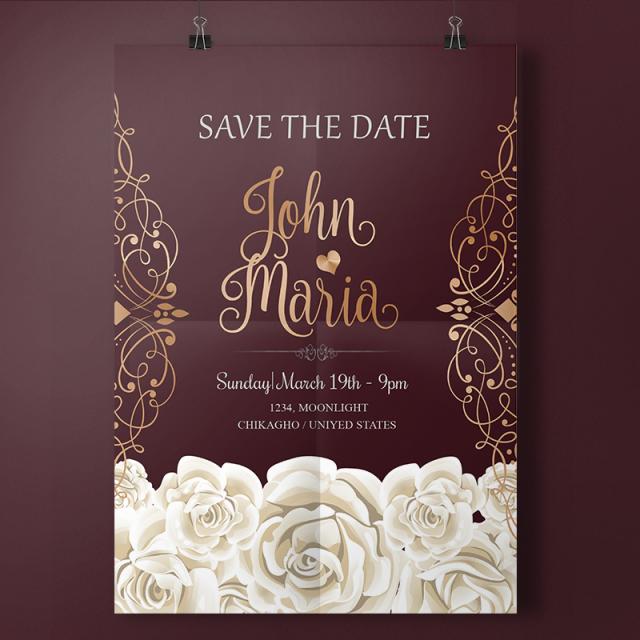 57 Creative Elegant Wedding Invitation Designs Free For Free for Elegant Wedding Invitation Designs Free