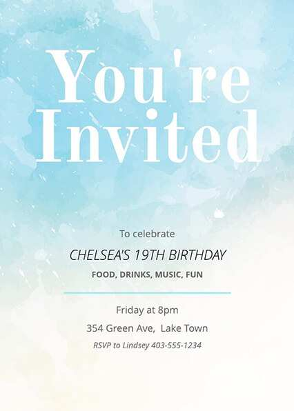 57 Customize Our Free Birthday Invitation Template Website for Ms Word by Birthday Invitation Template Website