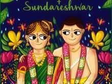 Tamil Brahmin Wedding Invitation Template