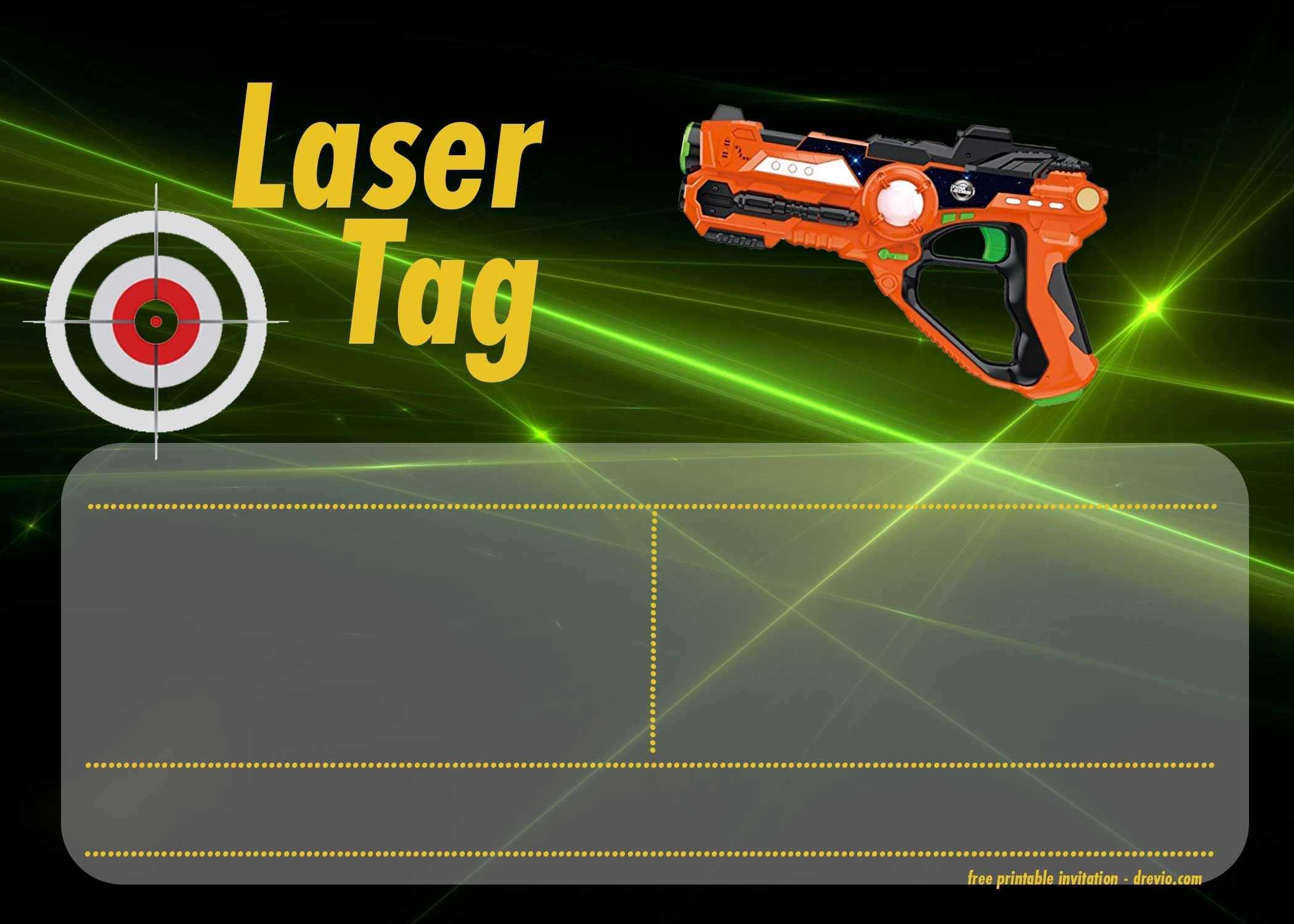 57 Format Birthday Invitation Template Laser Tag With Stunning Design by Birthday Invitation Template Laser Tag