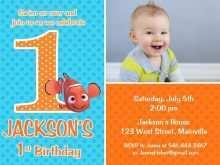 57 Free Nemo Birthday Invitation Template Download for Nemo Birthday Invitation Template