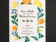 Invitation Card Without Text