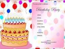 57 The Best Birthday Invitation Template Simple Photo for Birthday Invitation Template Simple
