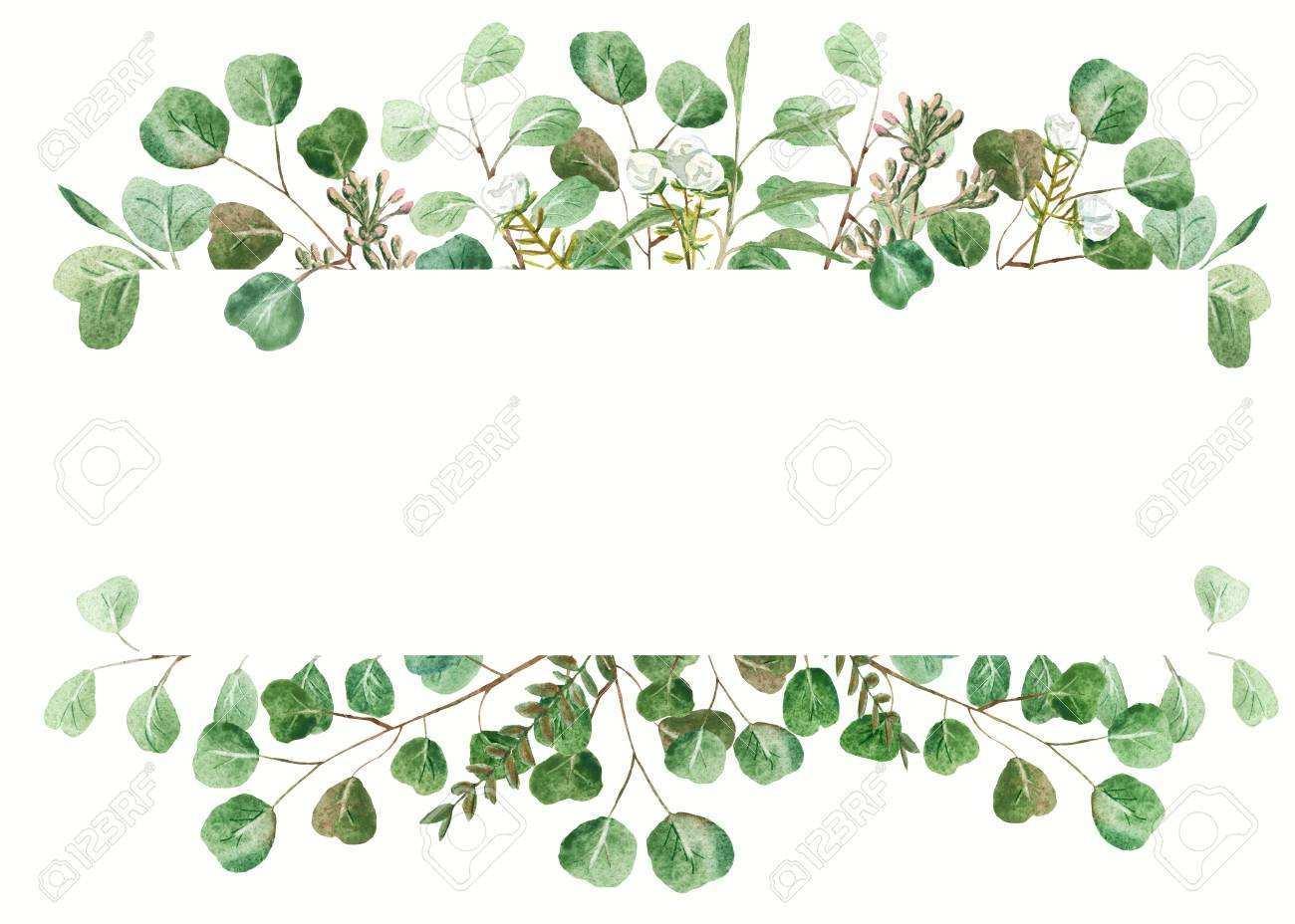 58 Best Wedding Invitation Template Eucalyptus in Photoshop with Wedding Invitation Template Eucalyptus