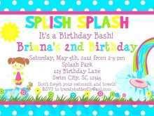 58 Blank Birthday Party Invitation Template Boy With Stunning Design by Birthday Party Invitation Template Boy