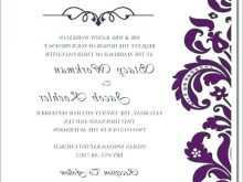 58 Customize Our Free Free Blank Template For Wedding Invitation Maker with Free Blank Template For Wedding Invitation