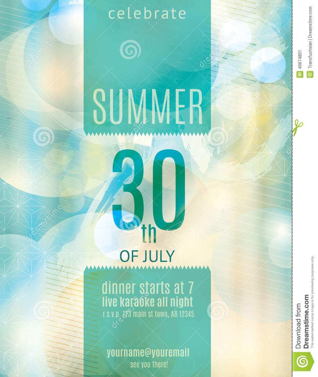 58 Customize Template For Elegant Birthday Invitation Now for Template For Elegant Birthday Invitation