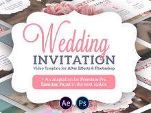 58 Format After Effect Wedding Invitation Template Maker with After Effect Wedding Invitation Template