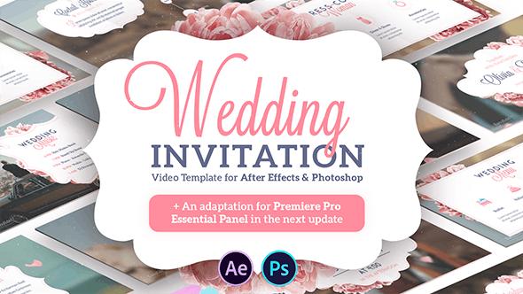 58 Format After Effect Wedding Invitation Template Maker with After Effect Wedding Invitation Template