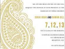58 Format Hindu Wedding Invitation Template PSD File for Hindu Wedding Invitation Template