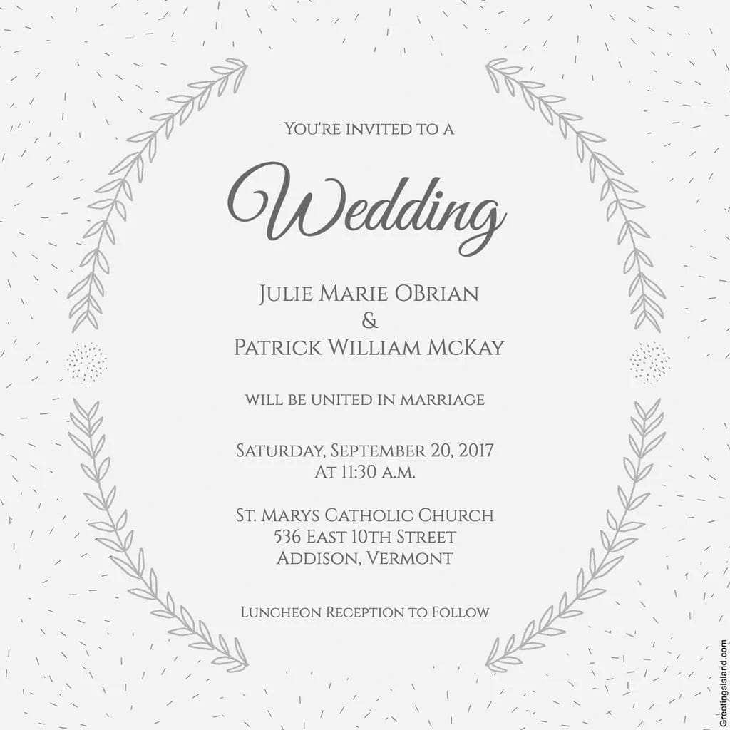 58 Report Wedding Dinner Invitation Text Message With Stunning Design for Wedding Dinner Invitation Text Message