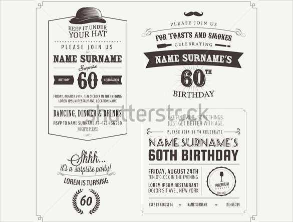 58 Standard Adults Birthday Invitation Template in Word with Adults Birthday Invitation Template