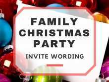 58 Visiting Christmas Party Invitation Template Now with Christmas Party Invitation Template
