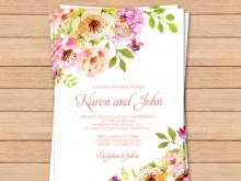 59 Blank Pastel Wedding Invitation Template Templates for Pastel Wedding Invitation Template
