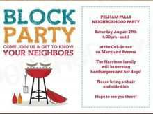 59 Create Block Party Invitation Template For Free by Block Party Invitation Template