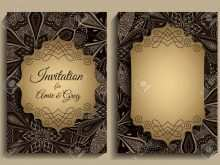 59 Create Elegant Invitation Template Free With Stunning Design with Elegant Invitation Template Free