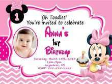 59 Customize Our Free Birthday Invitation Template Minnie Mouse Layouts for Birthday Invitation Template Minnie Mouse