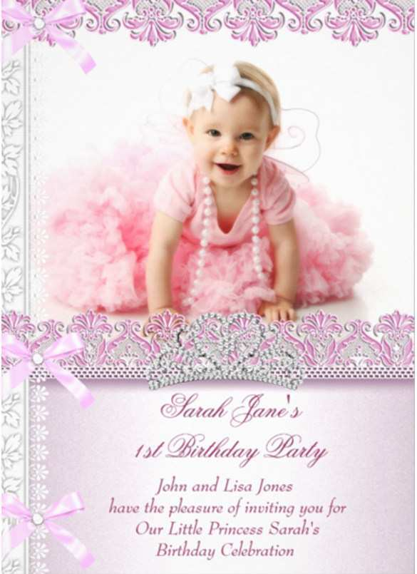 59 Free Birthday Invitation Template For Baby Girl in Photoshop with Birthday Invitation Template For Baby Girl