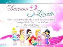 59 Free Birthday Invitation Template Princess Formating with Birthday Invitation Template Princess