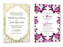 59 Free Example Of Wedding Invitation With Reception Wording With Stunning Design with Example Of Wedding Invitation With Reception Wording