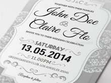 59 How To Create Elegant Wedding Invitation Designs Free Download by Elegant Wedding Invitation Designs Free