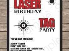 59 Online Birthday Invitation Template Laser Tag Photo with Birthday Invitation Template Laser Tag