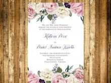 59 The Best Microsoft Word Wedding Invitation Template Download for Microsoft Word Wedding Invitation Template