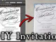 60 Create Birthday Invitation Template Adobe Illustrator Photo by Birthday Invitation Template Adobe Illustrator