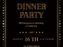 60 Create Dinner Invitation Template Online PSD File by Dinner Invitation Template Online