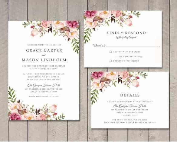 60 Create Indesign Wedding Invitation Template Free Formating by Indesign Wedding Invitation Template Free