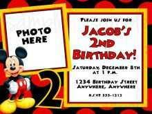 60 Create Mickey Mouse Blank Invitation Template Now by Mickey Mouse Blank Invitation Template