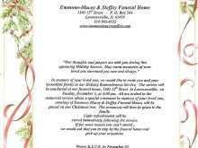 60 Creative Elegant Funeral Invitation Template Layouts with Elegant Funeral Invitation Template