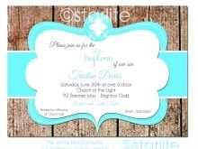 60 Customize Blank Baptism Invitation Template Formating with Blank Baptism Invitation Template