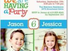 60 Customize Joint Party Invitation Template Now with Joint Party Invitation Template