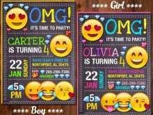 60 Free Birthday Invitation Template Emoji Download for Birthday Invitation Template Emoji