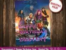 60 Free Descendants Party Invitation Template in Photoshop for Descendants Party Invitation Template