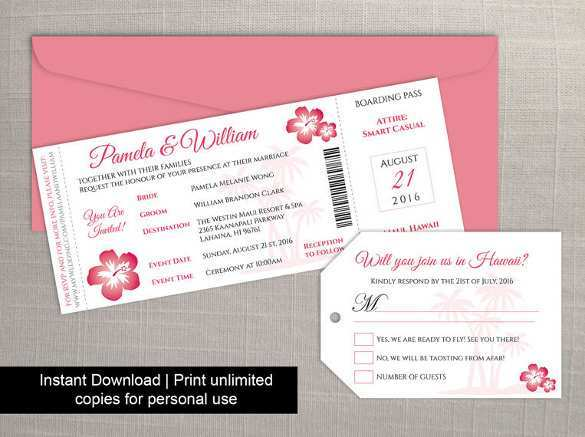60 Free Printable Free Boarding Pass Wedding Invitation Template With Stunning Design With Free Boarding Pass Wedding Invitation Template Cards Design Templates