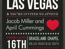 60 Online Vegas Wedding Invitation Template in Photoshop for Vegas Wedding Invitation Template