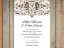 60 Report Make Your Own Wedding Invitation Template Free in Word for Make Your Own Wedding Invitation Template Free