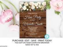 60 The Best Hen Party Invitation Template Formating by Hen Party Invitation Template