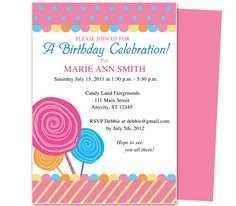 61 Creative Kiddie Birthday Invitation Template for Ms Word by Kiddie Birthday Invitation Template