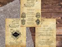 61 Free Printable Harry Potter Wedding Invitation Template Layouts for Harry Potter Wedding Invitation Template